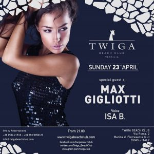 domenica discoteca twiga beach club