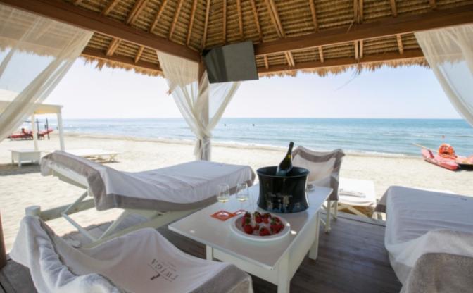 ristorante twiga spiaggia
