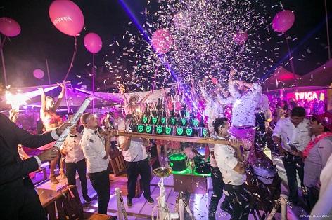 tavoli discoteca twiga
