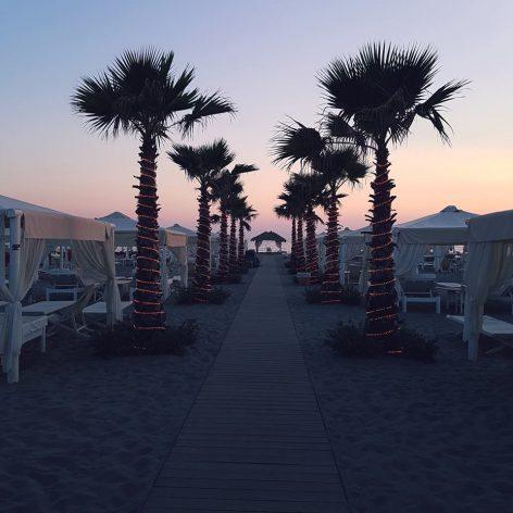 tramonto spiaggia bagno twiga