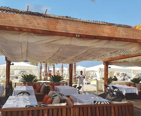 bagno twiga ristorante sulla spiaggia