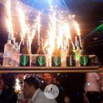discoteca twiga beach bottiglie