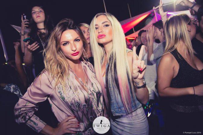 discoteca twiga beach ragazze in versilia