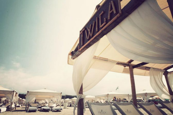 inaugurazione twiga beach spiaggia