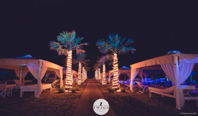 inaugurazione twiga discoteca spiaggia