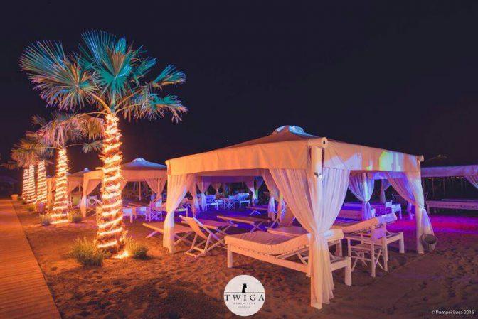 inaugurazione twiga discoteche sulla spiaggia