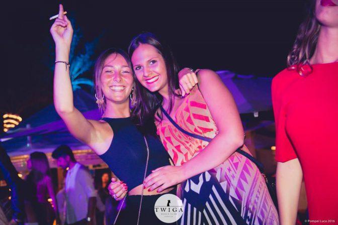 martedi twiga beach club serata