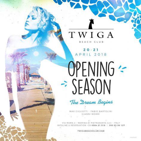forte dei marmi inaugurazione twiga beach