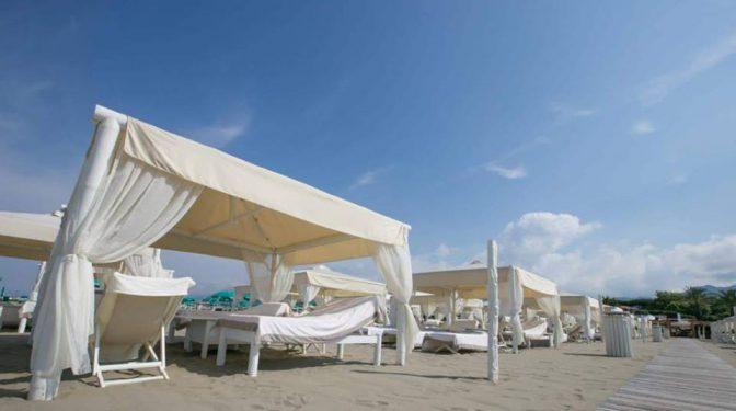 spiaggia più esclusiva d'italia