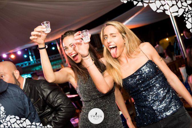 shot in discoteca