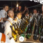 champagne nella discoteca più esclusiva d'italia