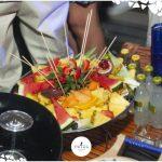 frutta al tavolo discoteca più esclusiva d'italia
