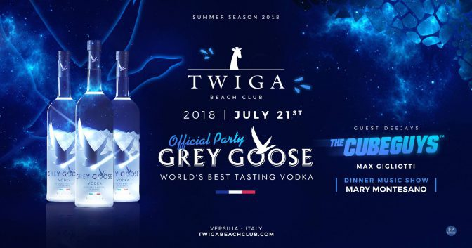 grey goose party twiga beach