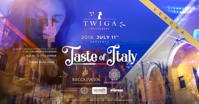 taste of italy twiga beach