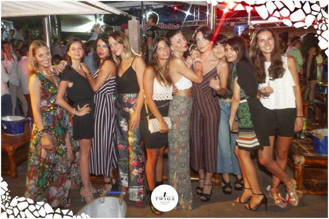 discoteca con più ragazze in versilia