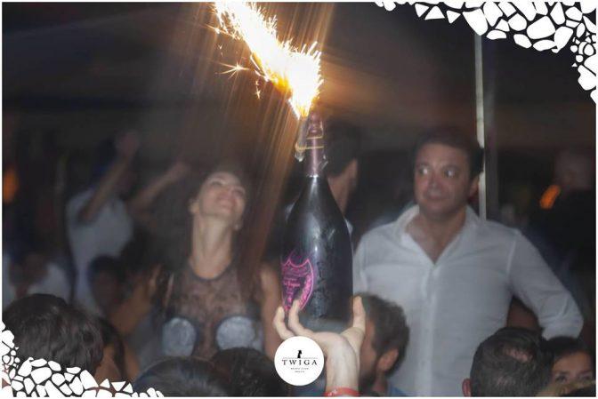 dom perignon nella discoteca top d'italia