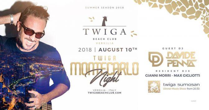 montecarlo night twiga