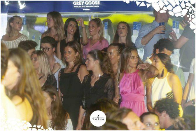 ragazze nella discoteca top d'italia
