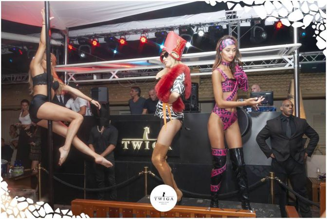 spettacolo foto twiga beach club