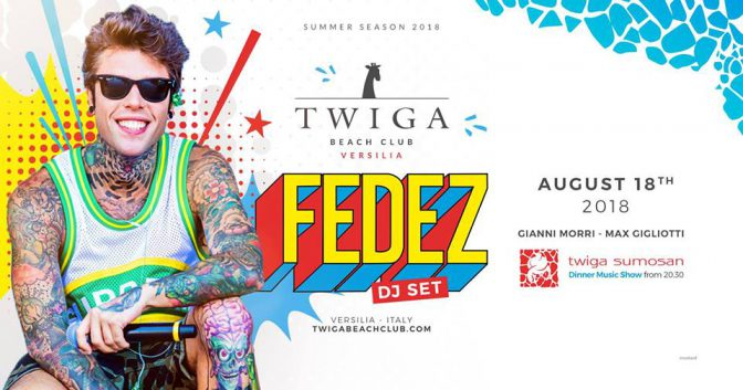 twiga fedez beach club