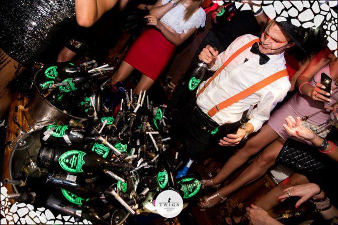 dom perignon in discoteca