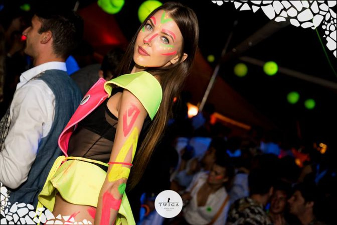 fluo party ferragosto twiga