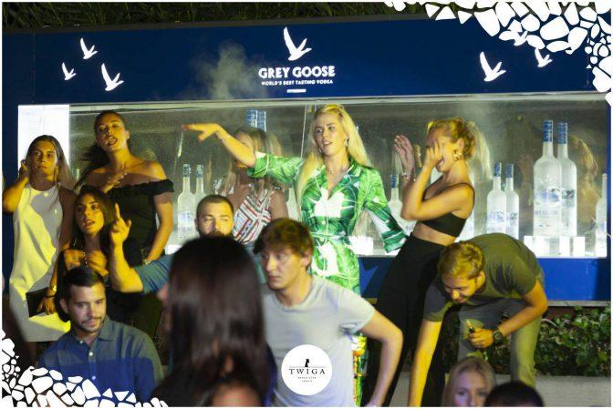 prive grey goose discoteca Twiga Forte dei Marmi