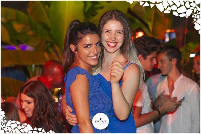 ragazze discoteca Twiga Forte dei Marmi
