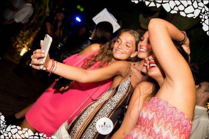 selfie ferragosto twiga