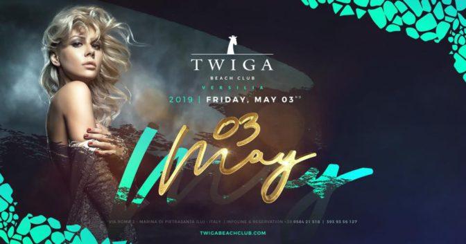 venerdì 3 maggio twiga versilia
