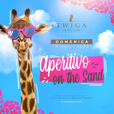 aperitivo twiga beach club